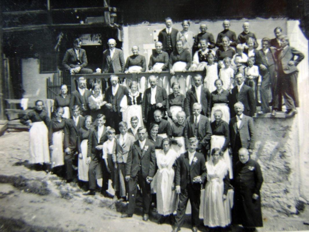 1.Juni 1938: Heirat von Anton Hofer mit Filomena Gögele